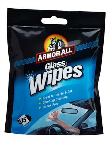 Interiør wipes glass